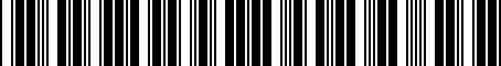 Barcode for 4791035330