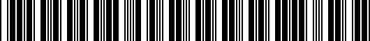 Barcode for 5553904040C0