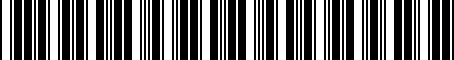 Barcode for 8531535120
