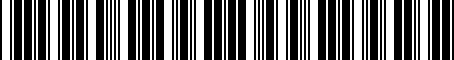 Barcode for 8542038010