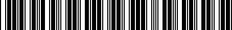Barcode for 89741AC040