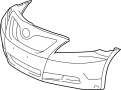 COVER, FRONT BUMPER