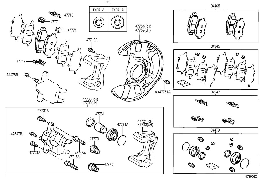 2005 Scion Xb Brake Parts on jeep cherokee starter diagram