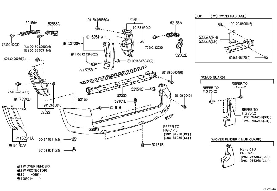 2008 mazda 3 bumper part diagram