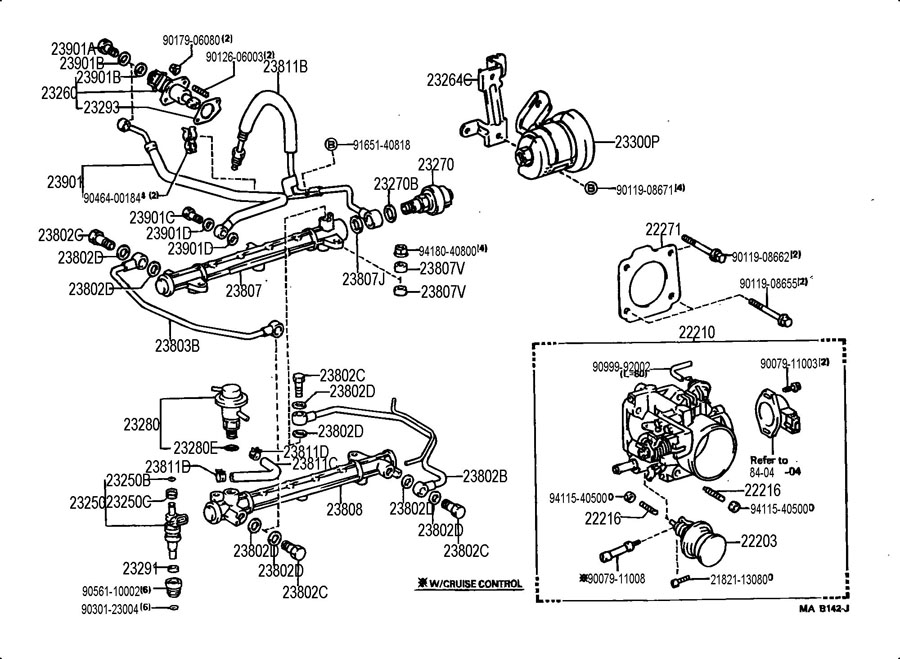 1990 toyota 4runner engine diagram 3vze  toyota  auto